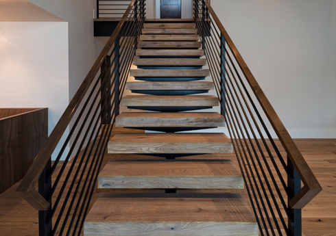 Modern home in Vail - Staircase